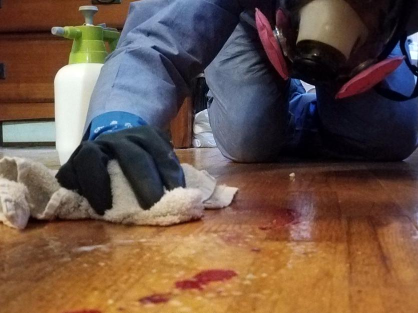 Suicide Clean Up Virginia